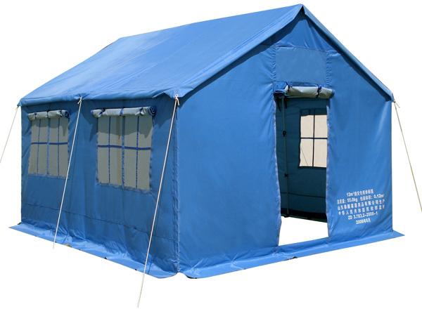 12平方救灾单帐篷