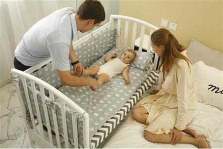 欧式婴儿床
