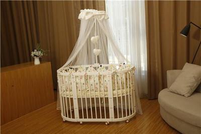 中式婴儿床